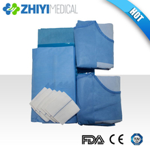 disposable surgical angiography pack