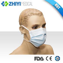 disposable tie-on face mask