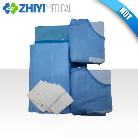 disposable surgical Cardiovascular pack