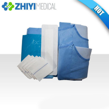 disposable surgical laparotomy pack